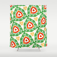 Christmas design 1 Shower Curtain by LoRo  Art & Pictures