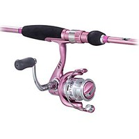 Bass Pro Shops Lady Lite LL Series Rod and Reel Spinning Combo