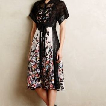 Monarch Midi Dress by Byron Lars Black Motif