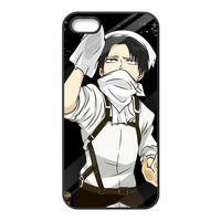 Attack on Titan Levi.Ackerman for Iphone 4S 5 5S 5C 6 Plus for Samsung galaxy S3 S4 S5 S6 S7 edge Note 2 3 4 5