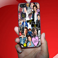 Louis Tomlinson collage case Apple iphone 6 Plus 5 5s 5c 4 4s iPod Touch Nano Samsung Galaxy s5 s4 s3 s2 Note HTC