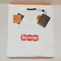 NEW SS17 Supreme x Louis Vuitton Box Logo Tshirt XL(us large) 100% authentic