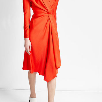 Crepe Dress - Victoria Beckham | WOMEN | US STYLEBOP.COM