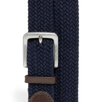 Men's Trafalgar Cotton Web Belt