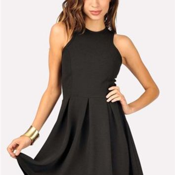Won't Back Down Dress - Black at Necessary Clothing