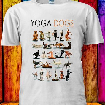 Yoga Dogs - Funny/Dogs Unisex T-shirt