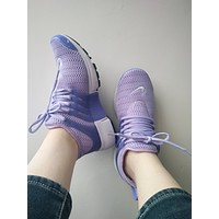 NIKE Air Presto Woman Running Sneakers Sport Shoes F purple