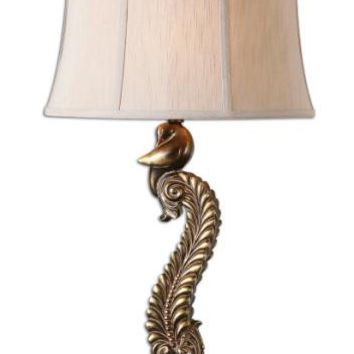 Table Lamp - Silver Taupe Shade