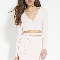 Self-Tie Cutout Dress