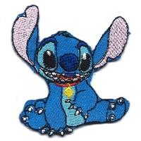 Stitch Alien experiment 626 in Lilo and Stitch Movie Disney Embroidered Iron On for T-Shirt Patch Applique