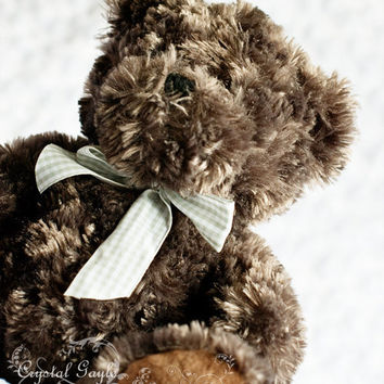Brown Teddy Bear Nursery Photography Print 8x10 Toddler Bedroom Children's Play room Wall Decor Art