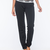 Fox Race Womens Sweatpants Black  In Sizes