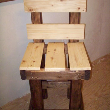 Rustic Bar Stool (Pub Chair)