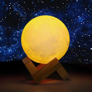 Moon Color Changing Night Lamp
