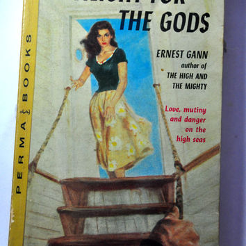 Pulp Fiction Paperback. Twilight for the Gods by Ernest Gann. Perma Books M4091. Cool Book Cover Art!