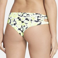 Junior Women's Volcom 'Pretty Wild' Cheeky Bikini Bottoms