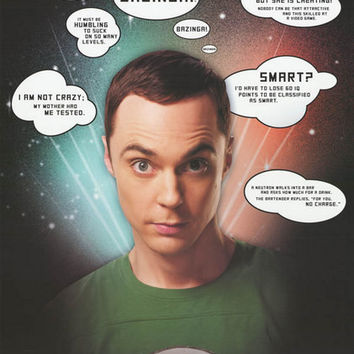 Big Bang Theory Sheldon Quotes Poster 22x34