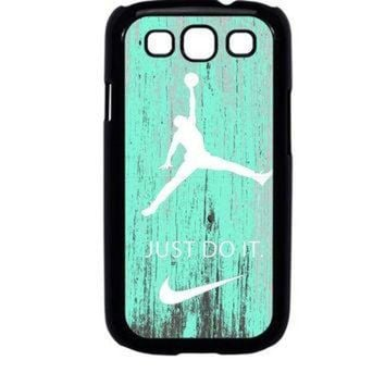 CREYUG7 Nike Jordan Mint Wood Samsung Galaxy S3 Case