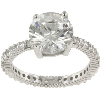 Shop Cubic Zirconia Solitaire Engagement Rings on Wanelo e8ab9968951a