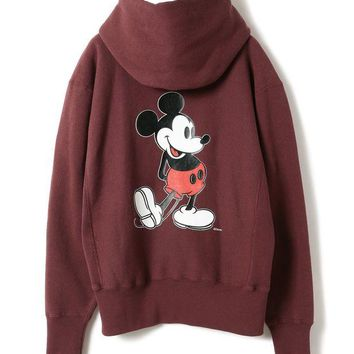ONETOW Champion x Beams Boy x Disney Hoodie Sweatshirt