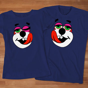 Miley Cyrus Bear Couples T-Shirt, Awesome Couples T-Shirt, Cute Couples T-Shirt