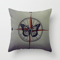 Where Is Home Throw Pillow by Sarah Hinds