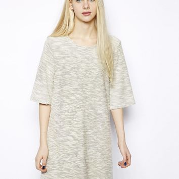 Monki Flecked Mini Dress