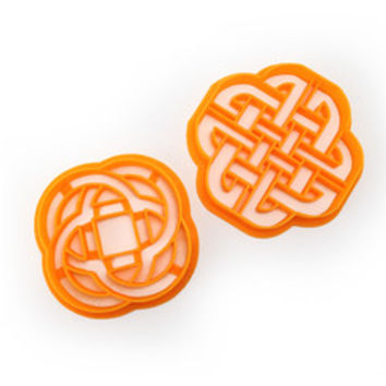 Celtic Knot Cookie Cutter Set