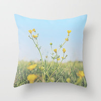 Aim for the Skies Throw Pillow by Beth - Paper Angels Photography
