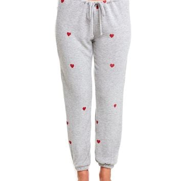 Tiny Heart Toss Sweatpants