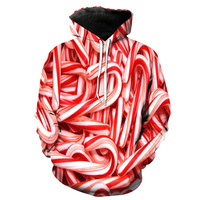 Candy Cane Christmas Hoodie