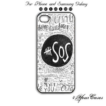 5sos, 5 Seconds of Summer.Phone 5 ,5Scase,iPhone 5C,Samsung Galaxy S3, Samsung Galaxy S4 Phone case,iPhone 4 Case, iPhone 4S Case