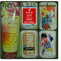 Bath & Body Works Lotion - Specify Scent @ checkout