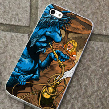 Hookah Smooking_Alice In Wonderland for iPhone 4/4s/5/5S/5C, Samsung S3/S4 case cover, Gift Under 25