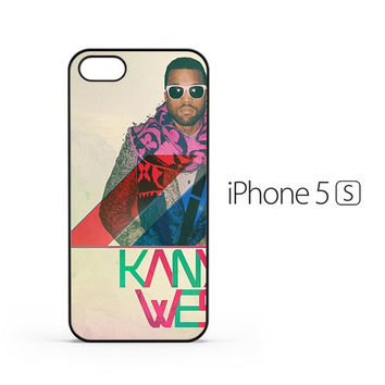Kanye West Colorful iPhone 5 / 5s Case