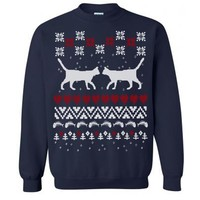 Cats Ugly Christmas Sweater