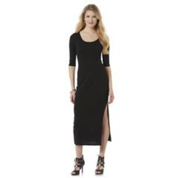 Junior's Knit Maxi Dress - Sears