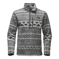 Men's Novelty Gordon Lyons 1/4 Zip in Monument Grey Print by The North Face - FINAL SALE