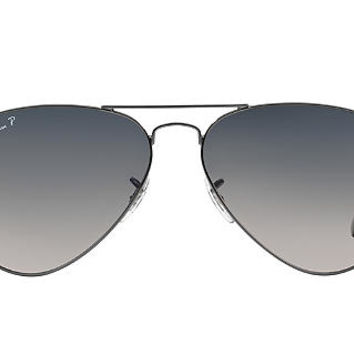 Ray-Ban Polarized RB3025 55 ORIGINAL AVIATOR Sunglasses | Sunglass Hut