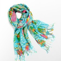 Lilly Pulitzer - Murfee Scarf - You Gotta Regatta