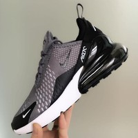 Nike Air Max 270 men and women The air cushion shoes-31