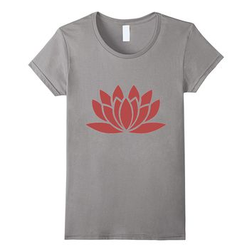 Lotus Flower Yoga Buddha Ohm t-shirt