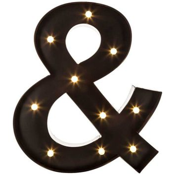 Black LED Marquee Ampersand | Hobby Lobby | 1142470