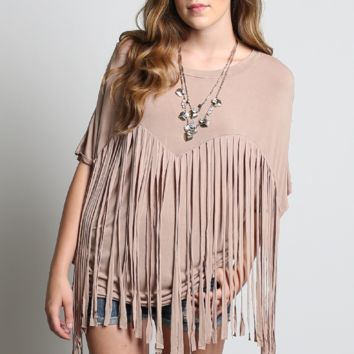 POL Fringe Top