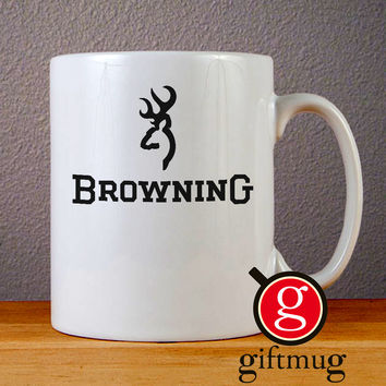 Browning Deer Ceramic Coffee Mugs