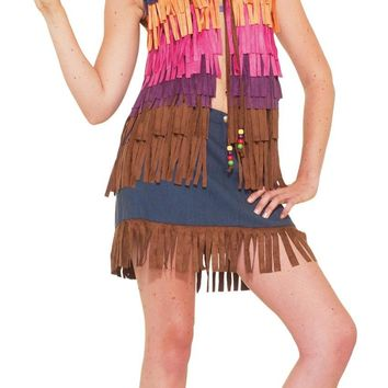 Hippie Fringed Vest Costume for 2017