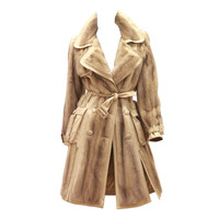Christian Dior Mink Fur Trench Coat (Circa 2005)