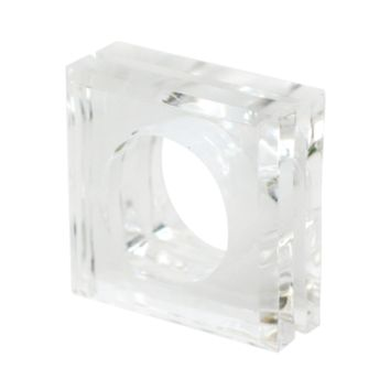 Lucite Napkin Rings Rental