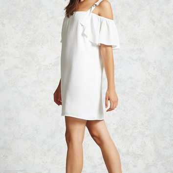 D-Ring Open-Shoulder Dress