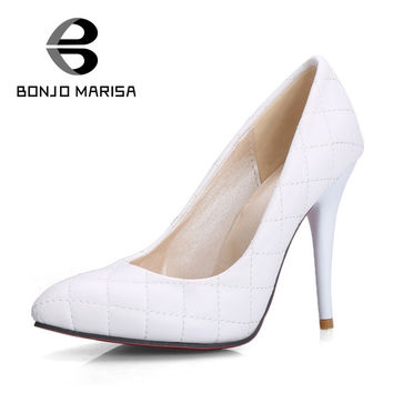 BONJOMARISA Sexy Extreme High Heel Woman Shoes